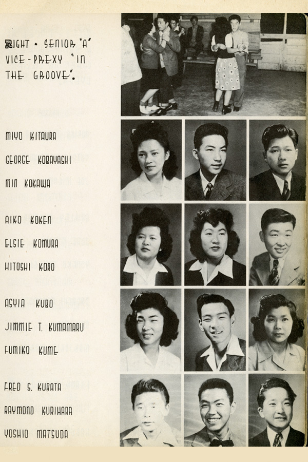 see you next year  high school yearbooks from wwii