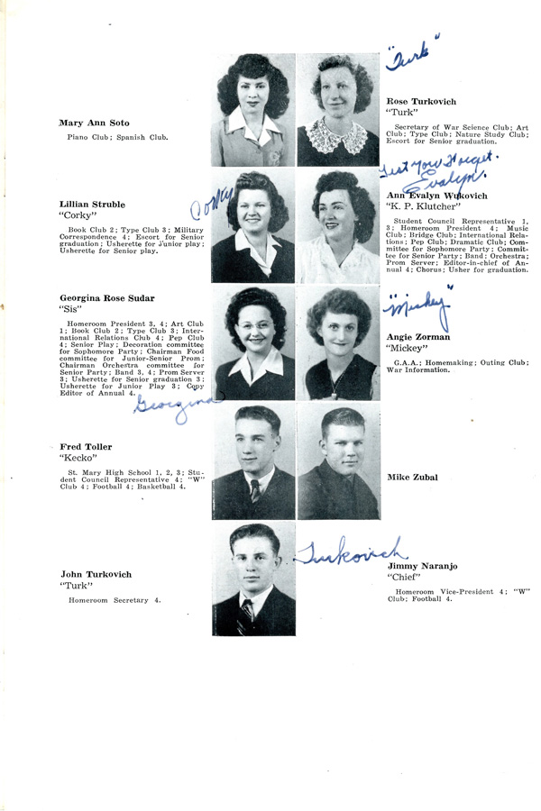 See You Next Year! High School Yearbooks from WWII ...